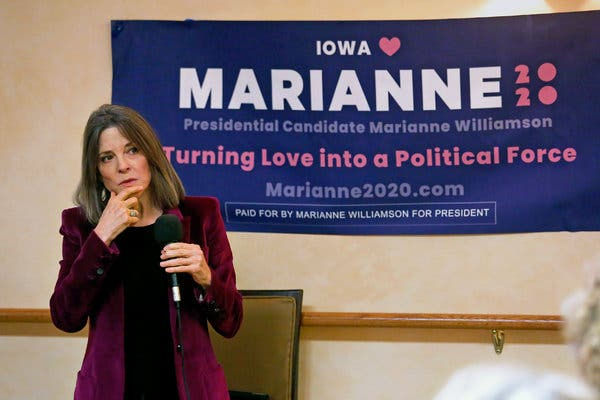 Marianne Williamson's presidential campaign was only her second foray into politics, after an unsuccessful congressional bid in California in 2014.