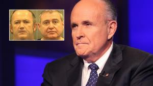 Rudy Giuliani wearing a suit and tie