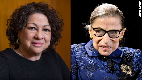 Trump calls for Sotomayor, Ginsburg to recuse themselves from 'Trump-related' cases as he has a lot at stake before the court