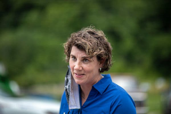 Amy McGrath held off a Democratic primary challenge from Charles Booker, a progressive rival.