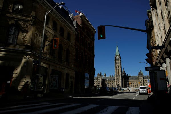 After suspending Parliament last month, Mr. Trudeau promised to present the country with an ambitious recovery plan from the coronavirus.