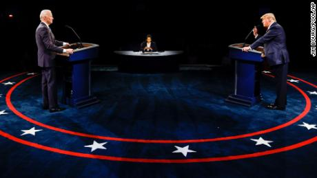 Debate sets up 11-day battle to decide the political destiny of a divided nation