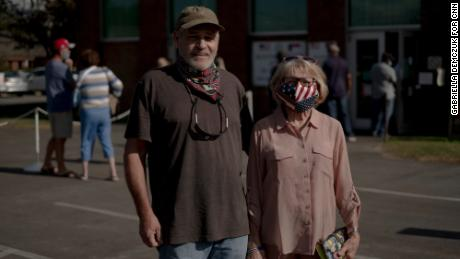 Brian Buck and Joan Buck voted for Trump in 2016 and say they're concerned about North Carolina becoming more liberal.