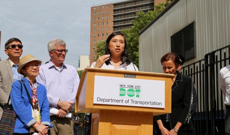 New York State Assemblywoman Yuh-Line Niou.